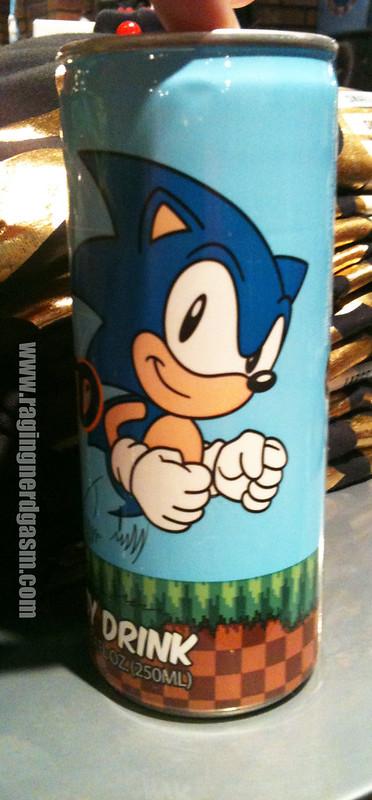 Sonic The Hedgehog Energy Drink 002