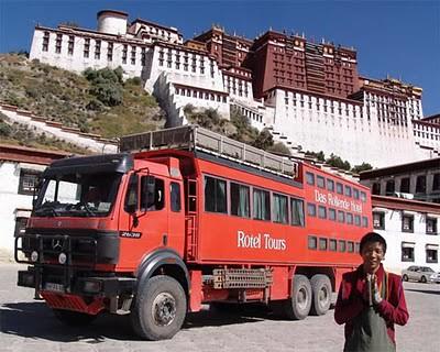 tibet rolling hotel