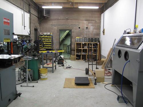 Shop renovations | Engin Cycles