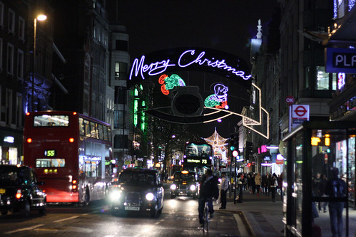 Oxford St Lights