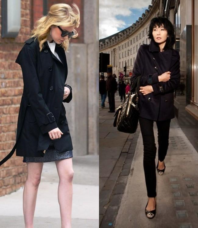 3ebe4f7801c DressCode:HighFashion: Celebrity Style: The (Trench) Coat Edition F/W 12