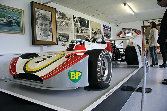 One of Roger Williamson's cars from The Wheatcroft Collection at Donington