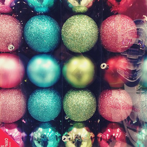 Pretty but not Christmassy. #retaillife #christmas #ornament