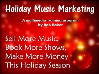 Holiday Christmas Music Sales Marketing