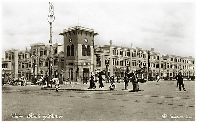 Cairo Railway Station In 1910's [Lehnert & Landrock]