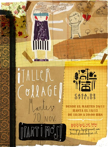 Taller Collage! by Maca López Godoy