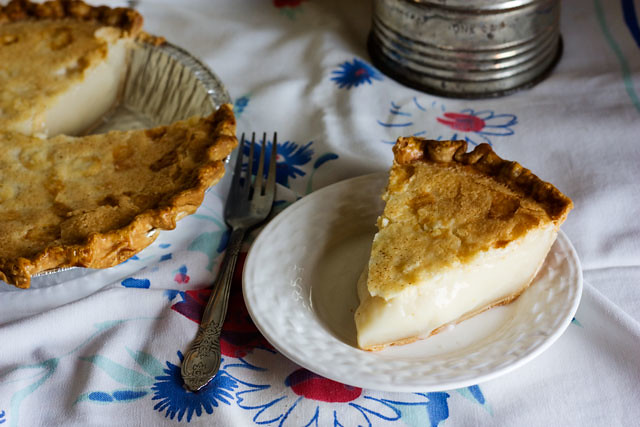 Sugar Cream Pie, Pie, Pie Recipe, Hoosier Pie, Sugar Cream Pie Recipe, Baking Recipe, Holiday Baking Recipe, Holiday Baking, Slice of Pie, Sugar Pie, Thanksgiving Pie Recipe