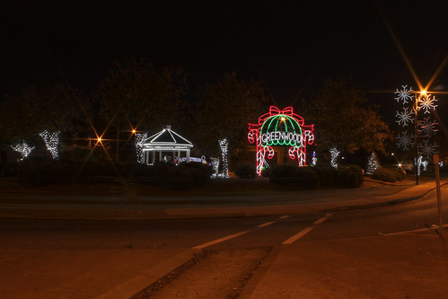 6:10 PM: Uptown Greenwood, All Decked-Out for the Season