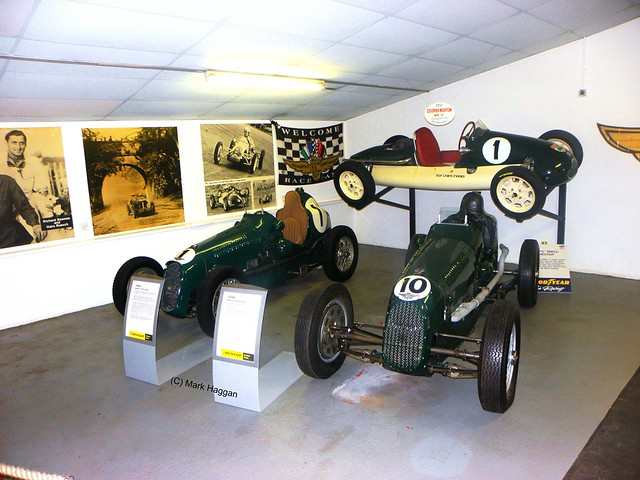 1935 Austin 7s at The Donington Collection
