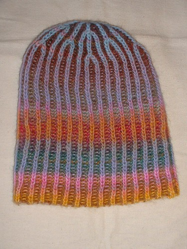 my amazing brioche hat 1