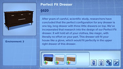 Perfect Fit Dresser