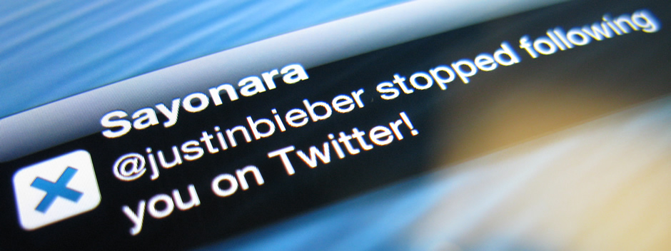 Sayonara para iPhone, te avisa cuando pierdes un follower en Twitter