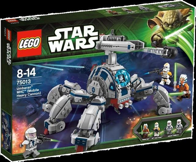 LEGO Star Wars 75013 - Umbarran MHC (Mobile Heavy Cannon) - Box