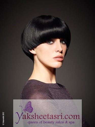 beauty hair model