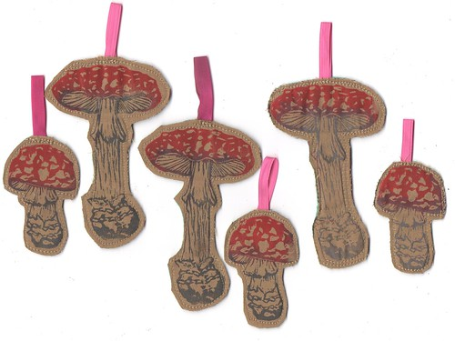Fly Agaric Ornaments