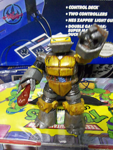 Nickelodeon  TEENAGE MUTANT NINJA TURTLES :: METALHEAD { tOkKUSTOM JUNKYARD Rust WASH } xv (( 2012 ))