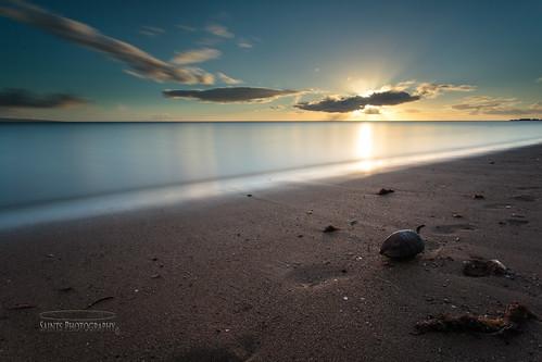 ocean sky beach hawaii sand slowshutter molokai 1740l leebigstopper canon5dmark3 saintsphotography michalelasantos