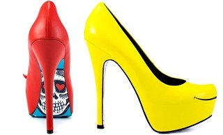 Smiles - Yellow and Devil - Red Taylor Says