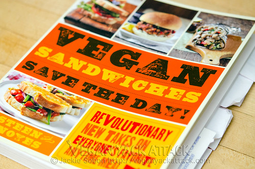 Vegan Sandwiches Save the Day! Cookbook Review