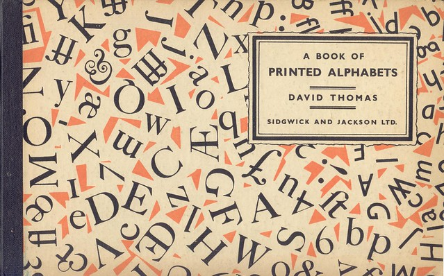 printed alphabets (1937)