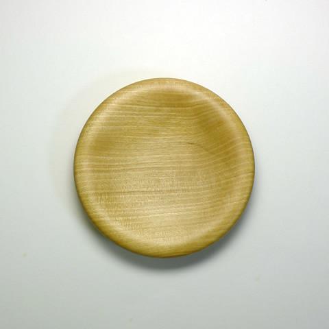 甲斐のぶお工房「木製デザート皿/タイプB」