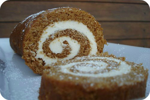 good ol' pumpkin roll.