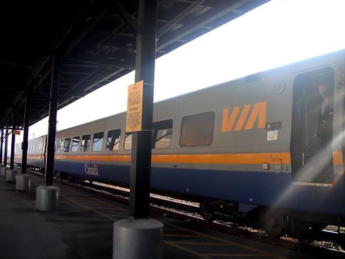 Via Rail Toronto to London