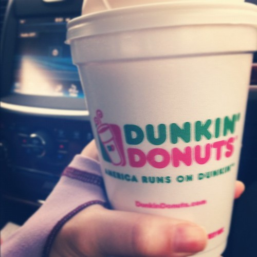 This Black Friday brought to you by...coffee. @oopajm1 #dunkindonuts #blackfriday