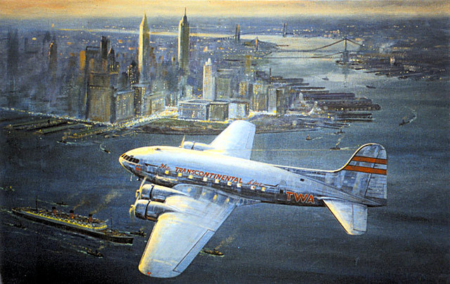 Boeing 307 Stratoliner by Douglas Ettridge