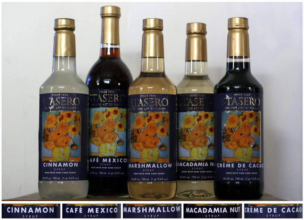 stasero syrups, fall edition