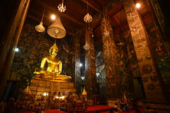Golden Buddha in Wat Suthat