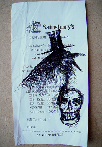 Sainsburys Crow and Skelly with Top Hat by The People In My Head