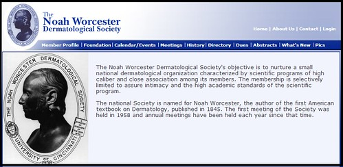 Joel Schlessinger MD elected member of Noah Worcester Dermatological Society