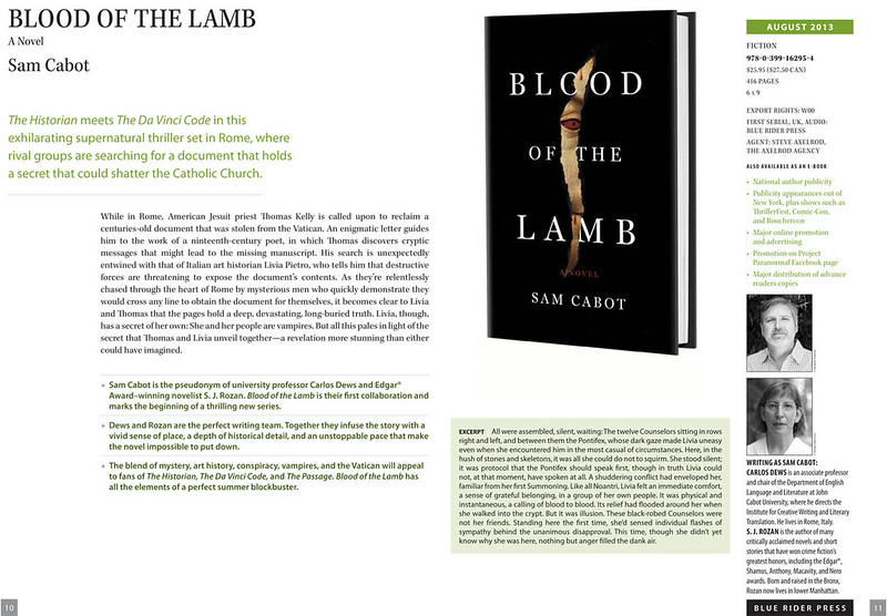 blood of the lamb!