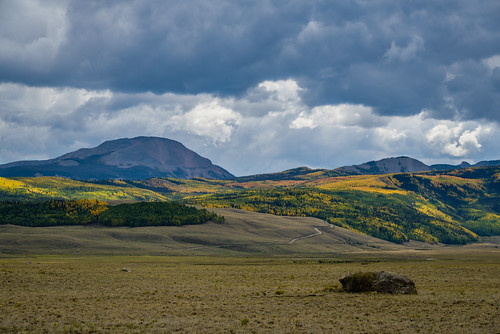 autumn mountains clouds colorado seasons unitedstates rockymountains sanjuanmountains mountainrange creede silverthreadscenicbyway
