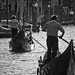 Gondola Perpsective in B&W by Nicolas Chaperon
