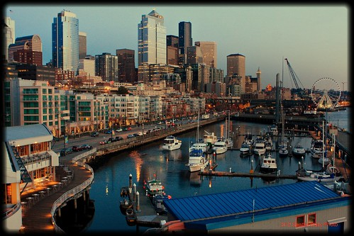 Take Your Flicks From Pier 66 by Seattle Daily Photo