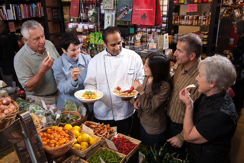 Group_Tour_with_a_Edible_BC_chef_at_South_China_Seas,_Granville_Island