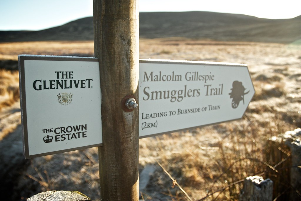Smugglers Trail Sign