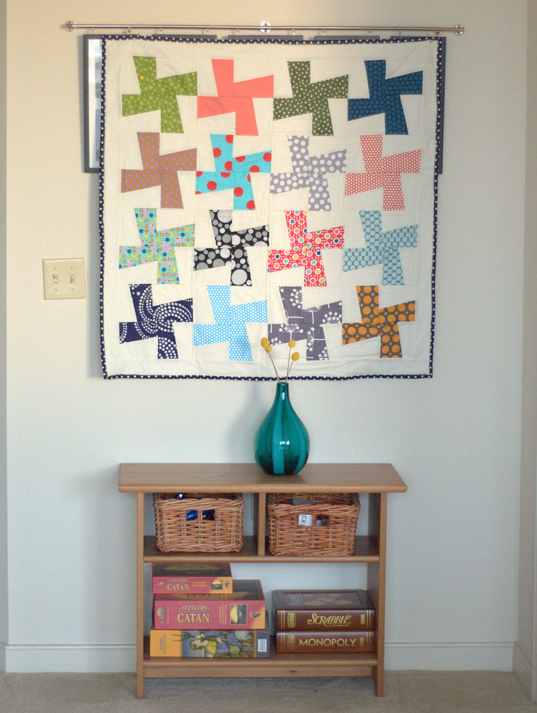 Dotted Whirligig Quilt