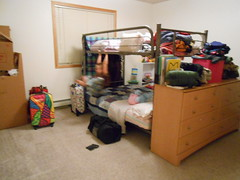 Unpacking Progress-Day 2 Bedroom take 2