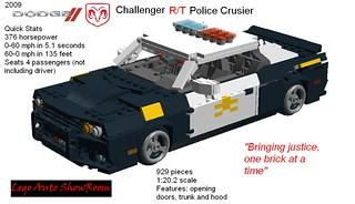 2009 Dodge Challenger R-T Police