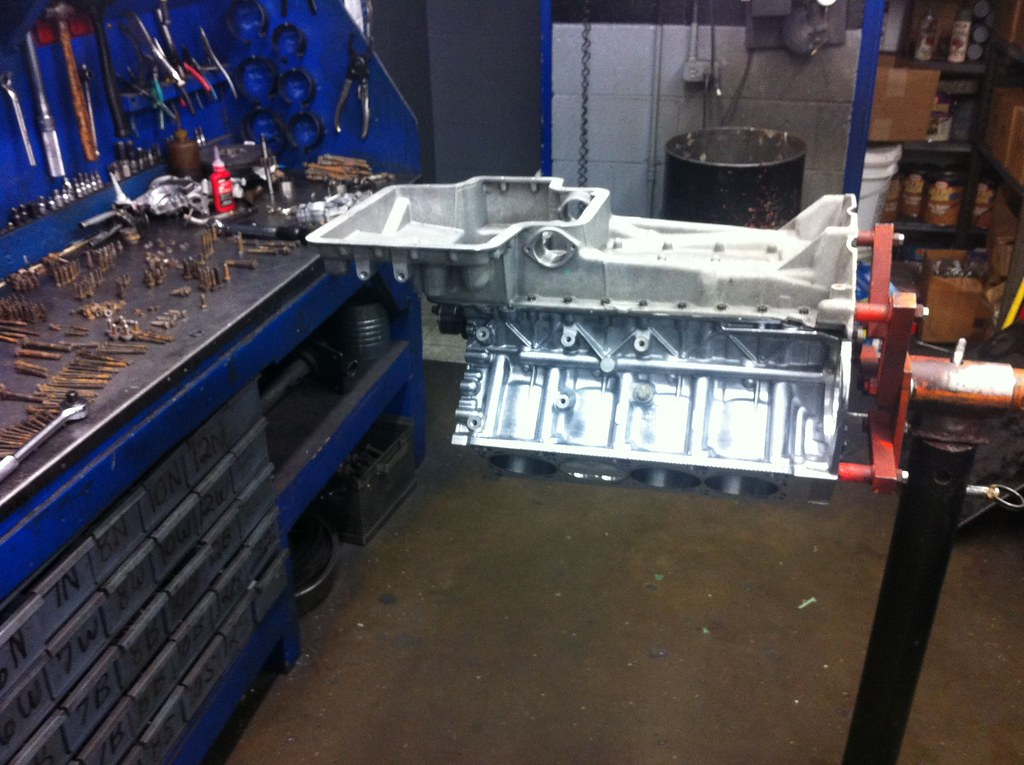 Forged S62 engine rebuild!