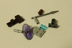 LEGO Star Wars 2012 Advent Calendar (9509) - Day 3: Gungan Shield Set