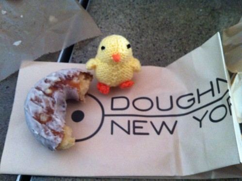 Chick and donut