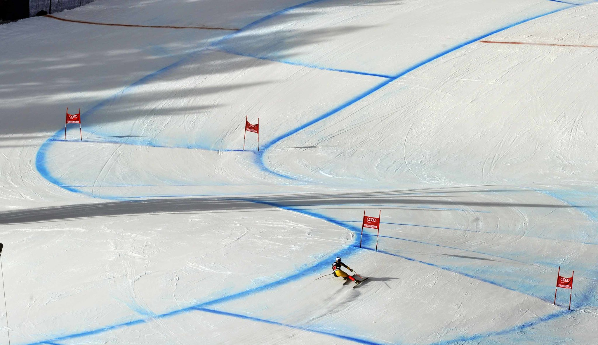 Erik Guay during men's downhill in Beaver Creek.