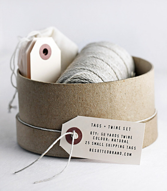 Tags and Twine Set from Besotted Brand