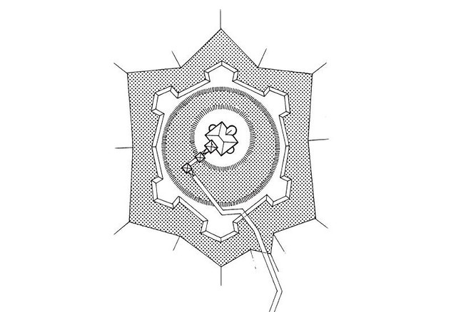 Plan kaštela Konjšćina