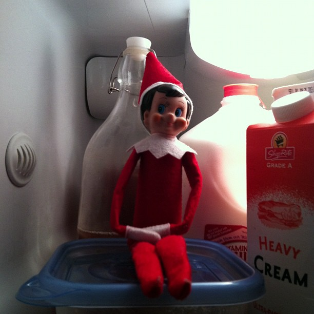 Elf on the Shelf Printables: Buddy missed the cold of the North Pole.