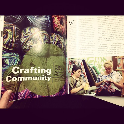 There's a great article about Tangle in the Winter issue of CMU's magazine, Horizon.